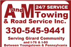 A and M Towing & Road Service Inc.